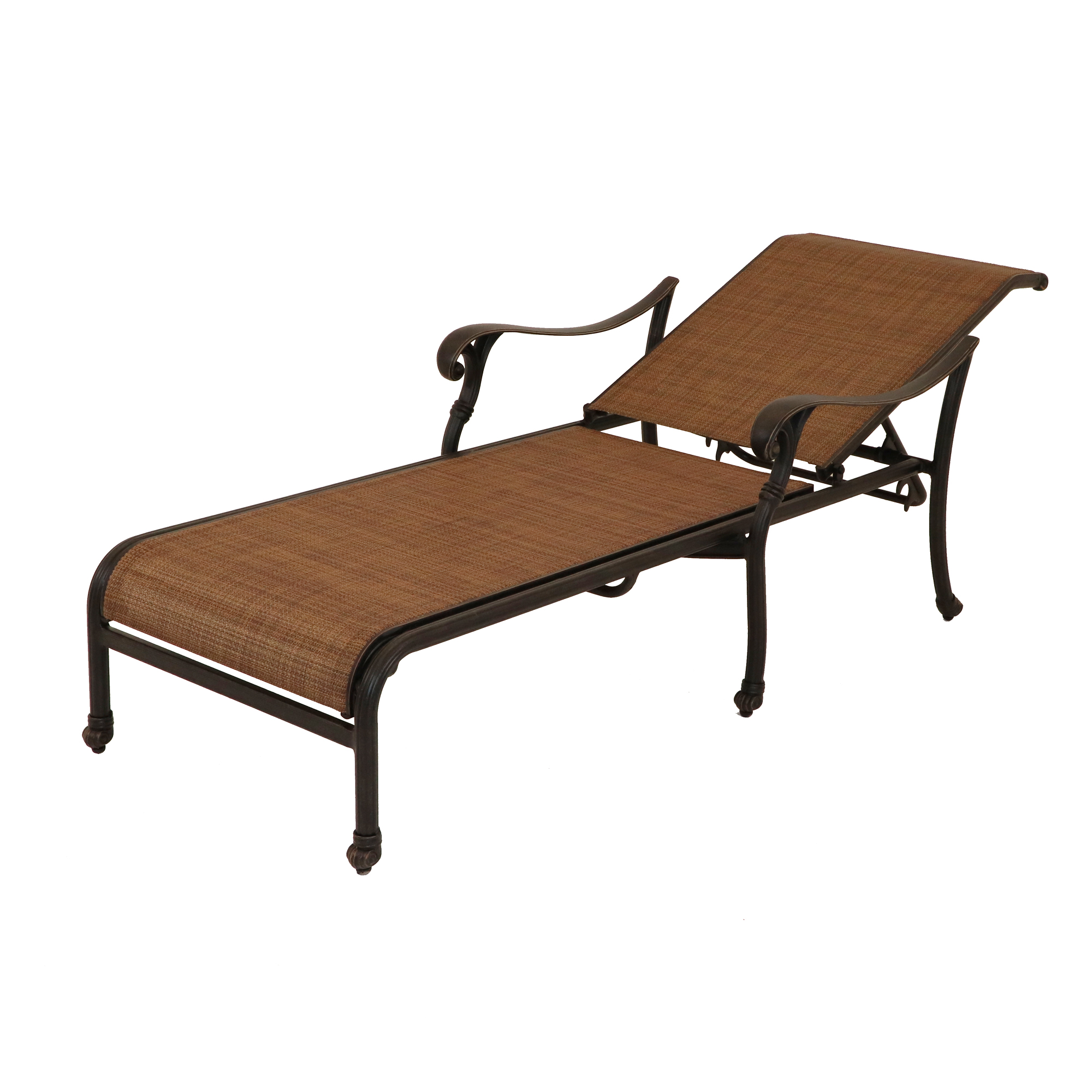w teak fabrics lounge sunbrella collection cushion wb outdoor veranda double chaise