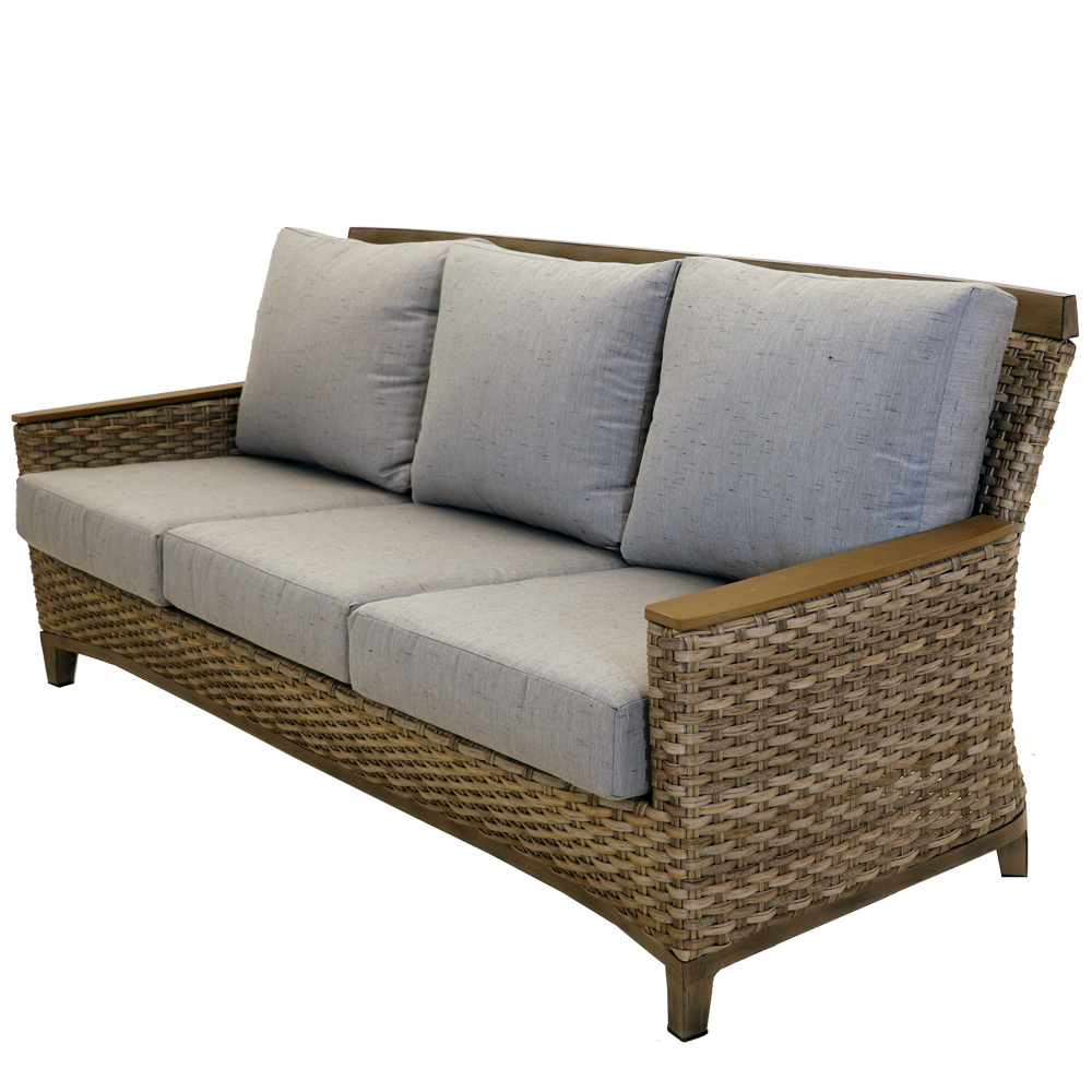 Harmony Wicker Sofa Patio Furniture At Sun Country